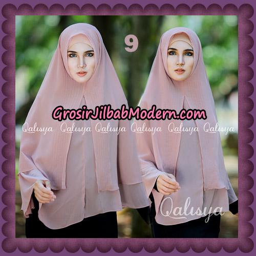 Jilbab Cerutti Khimar Azema Original by Qalisya Brand No 9