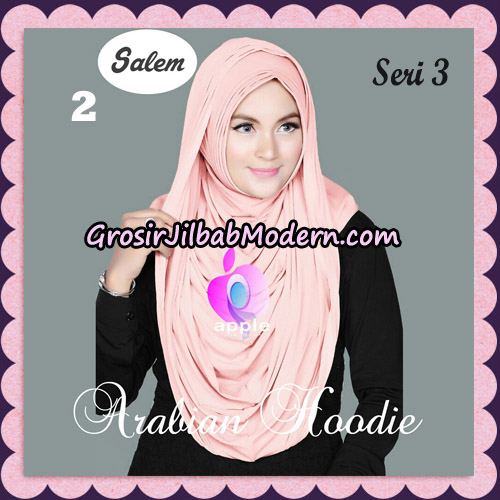 Jilbab Instant Arabian Hoodie Seri 3 Original By Apple Hijab Brand NO 2