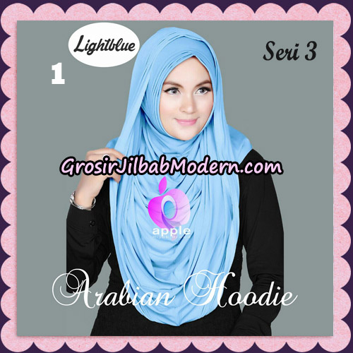 Jilbab Instant Arabian Hoodie Seri 3 Original By Apple Hijab Brand No 1