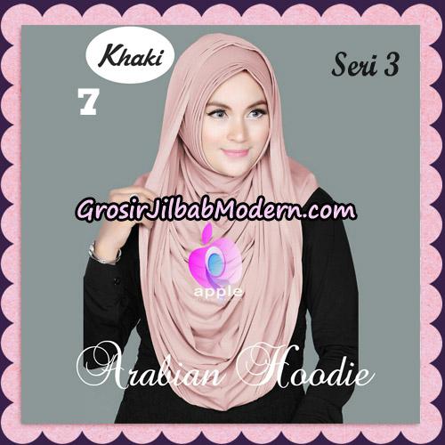 Jilbab Instant Arabian Hoodie Seri 3 Original By Apple Hijab Brand No 7