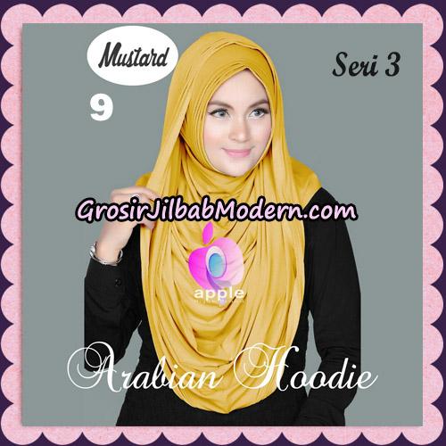 Jilbab Instant Arabian Hoodie Seri 3 Original By Apple Hijab Brand No 9