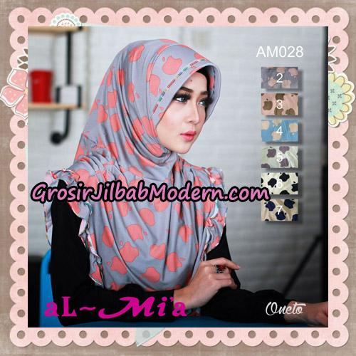 Jilbab Instant Cantik Almia AM028 Original By Almia ( Al-Mi'a Brand )