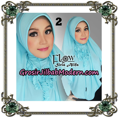 Jilbab Instant Syria Alifa Original By Flow Idea No 2