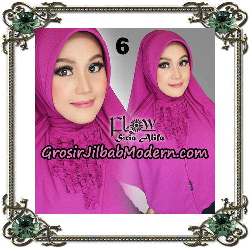 Jilbab Instant Syria Alifa Original By Flow Idea No 6