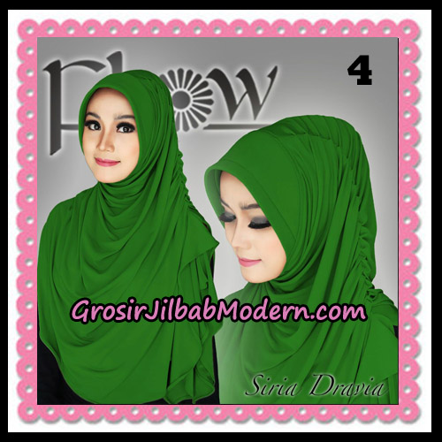 Jilbab Instant Syria Pet Dravia Seri 2 Original By Flow Idea No 4