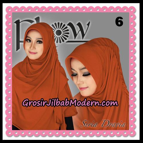 Jilbab Instant Syria Pet Dravia Seri 2 Original By Flow Idea No 6