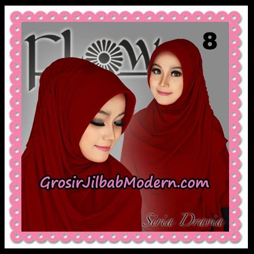 Jilbab Instant Syria Pet Dravia Seri 2 Original By Flow Idea No 8