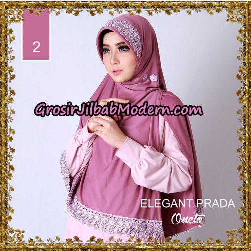 Jilbab Jumbo Elegant Prada Syar'i Support By Oneto Hijab No 2.