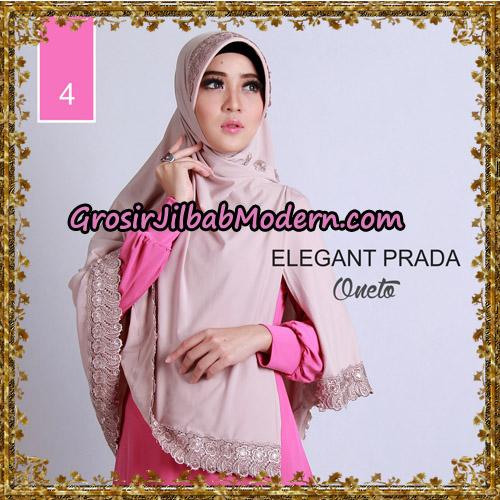 Jilbab Jumbo Elegant Prada Syar'i Support By Oneto Hijab No 4.