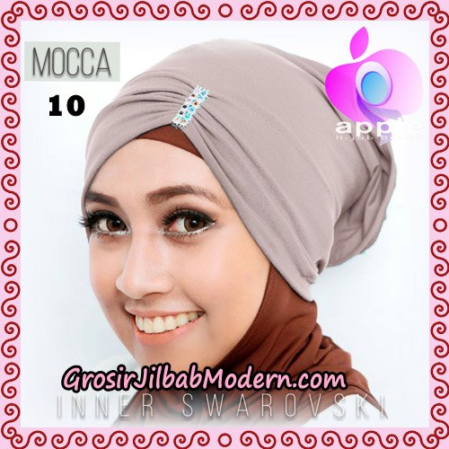 Inner Swarovski Cantik Original By Apple Hijab Brand No 10