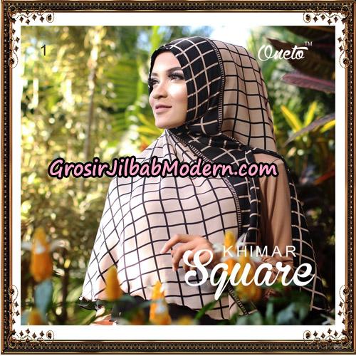 Jilbab Cerutti Khimar Square Support Oneto Hijab No 1
