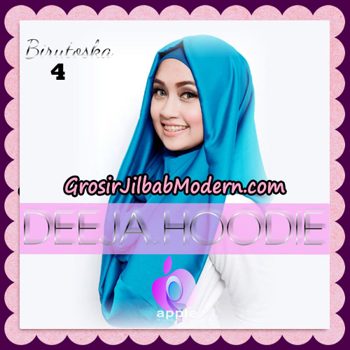Jilbab Instant Deeja Hoodie New Series By Apple Hijab Brand No 4