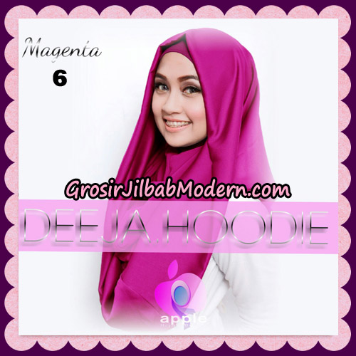 Jilbab Instant Deeja Hoodie New Series By Apple Hijab Brand No 6