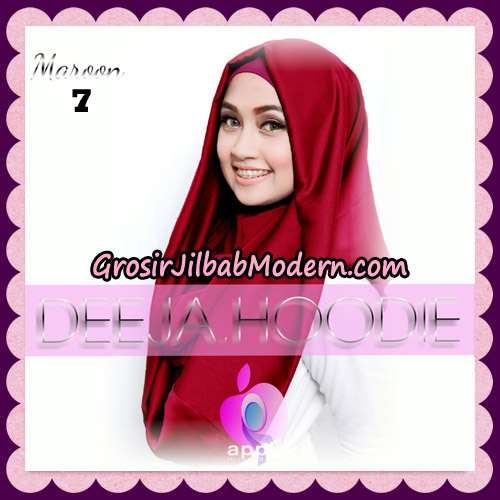 Jilbab Instant Deeja Hoodie New Series By Apple Hijab Brand No 7