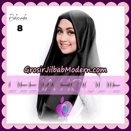 Jilbab Instant Deeja Hoodie New Series By Apple Hijab Brand No 8