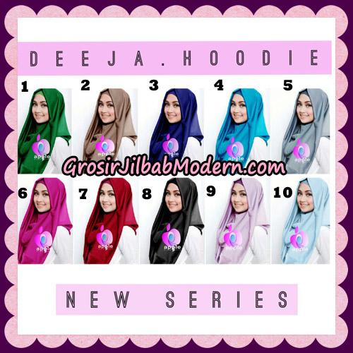 Jilbab Instant Deeja Hoodie New Series By Apple Hijab Brand