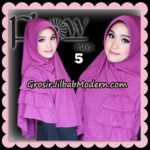 Jilbab Instant Jersey Korea Inaya Original By Flow Idea No 5