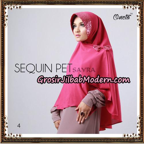 Jilbab Instant Sequin Pet Original By Sayra Hijab Brand No 4