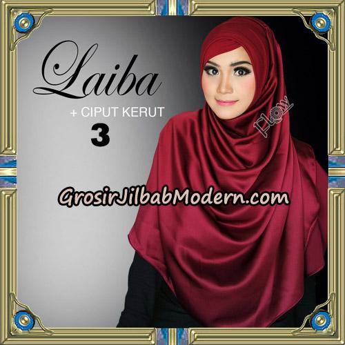 Jilbab Instant Silk Syria Laiba Original By Flow Idea No 3
