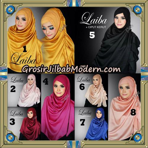Jilbab Instant Silk Syria Laiba Original By Flow Idea