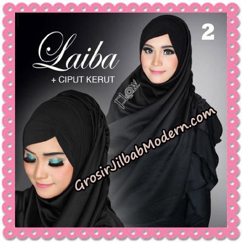 Jilbab Instant Silk Syria Laiba Seri 2 Original By Flow Idea No 2