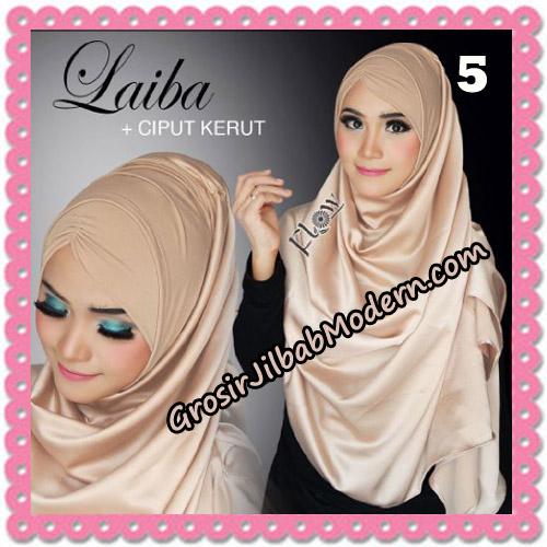Jilbab Instant Silk Syria Laiba Seri 2 Original By Flow Idea No 5