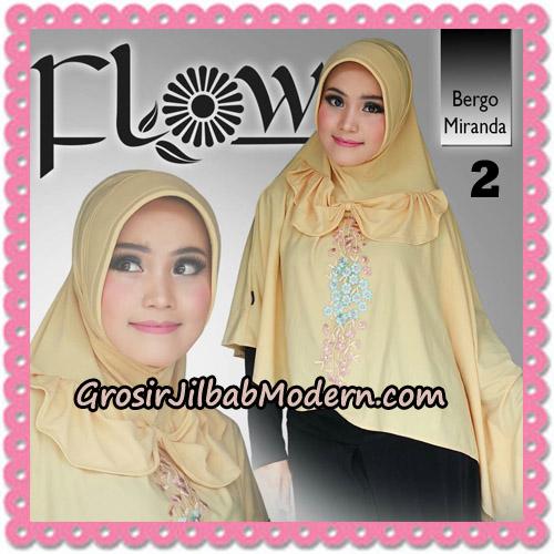 Jilbab Instant Syria Bergo Miranda Original By Flow Idea No 2