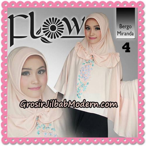 Jilbab Instant Syria Bergo Miranda Original By Flow Idea No 4