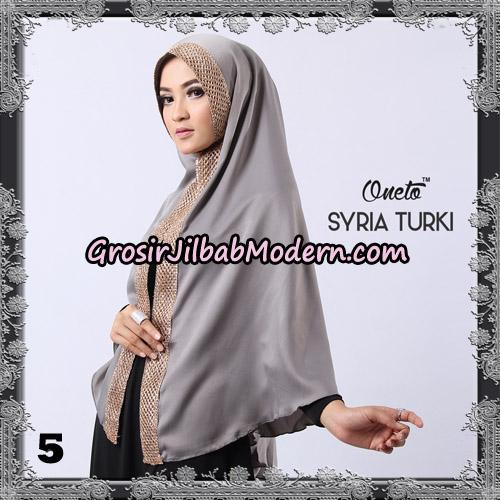 Jilbab Instant Syria Turki Exclusive Support Oneto Hijab No 5