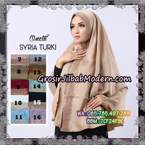 Jilbab Instant Syria Turki Exclusive Support Oneto Hijab - Pilihan Lain