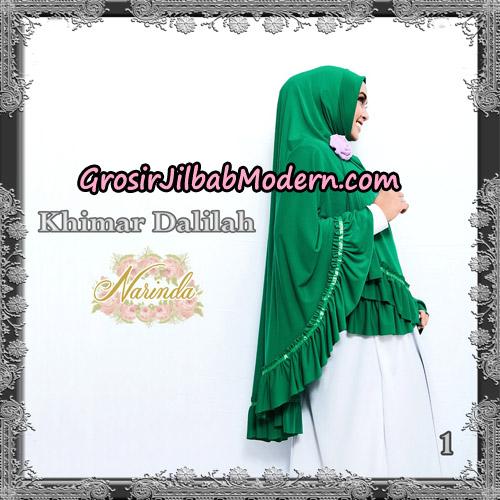 Jilbab Jumbo Khimar Dalilah Original By Narinda Hijab No 1 Hijau