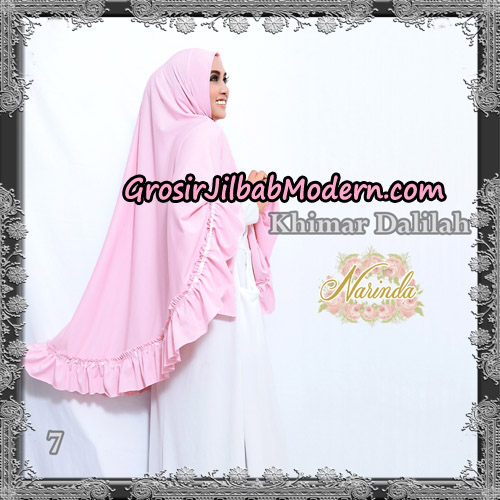 Jilbab Jumbo Khimar Dalilah Original By Narinda Hijab No 6 Hitam