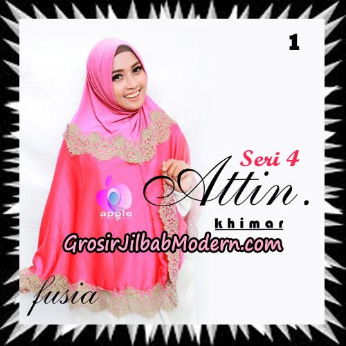 Jilbab Khimar Attin Seri 4 Original By Apple Hijab Brand No 1 Fusia