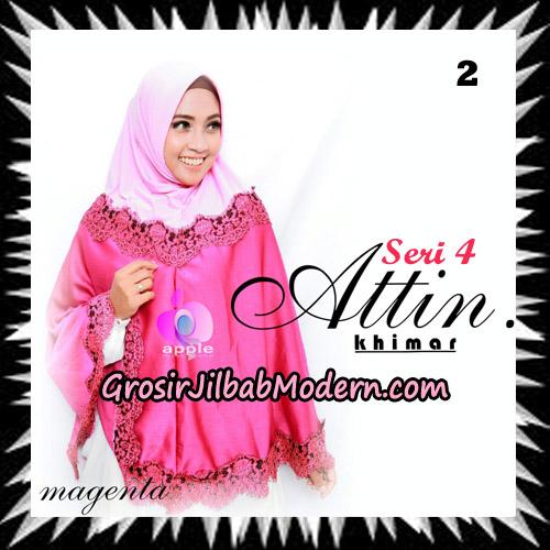 Jilbab Khimar Attin Seri 4 Original By Apple Hijab Brand No 2 Magenta