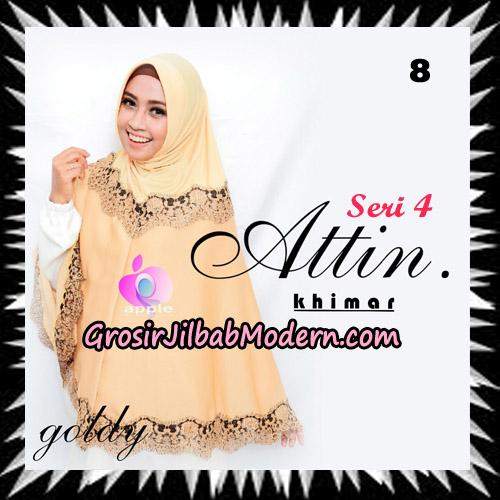 Jilbab Khimar Attin Seri 4 Original By Apple Hijab Brand No 8 Goldy