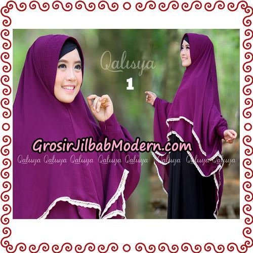 Jilbab Khimar Modern Exclusive Tunik Yumna By Qalisya Hijab No 1