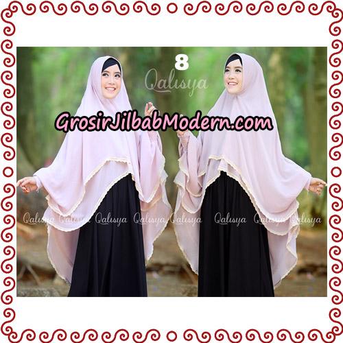 Jilbab Khimar Modern Exclusive Tunik Yumna By Qalisya Hijab No 8