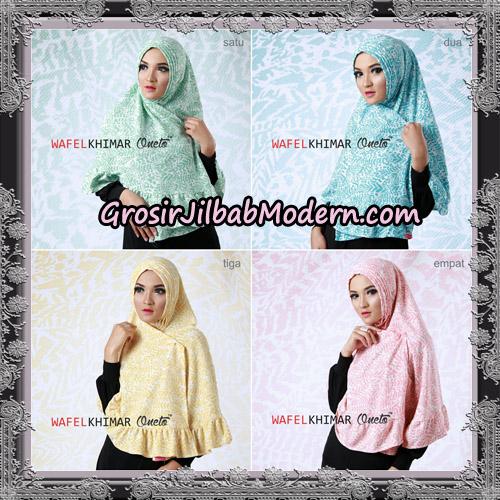 Jilbab Khimar Wafel Cantik Support Oneto Hijab