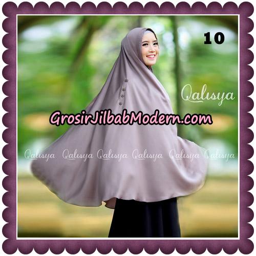 Jilbab Khimar Ziya Original By Qalisya Hijab Brand No 10