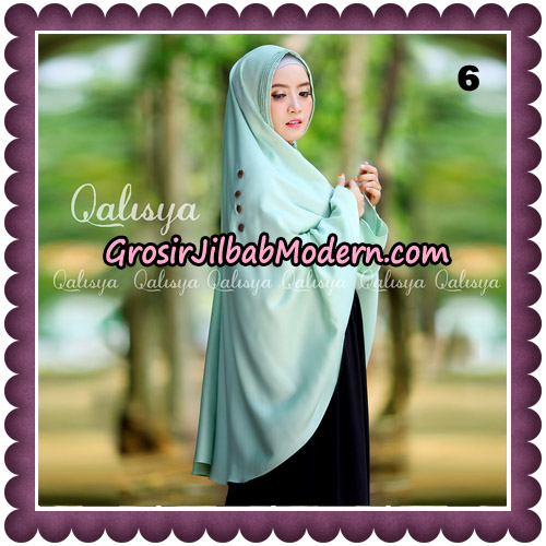 Jilbab Khimar Ziya Original By Qalisya Hijab Brand No 6