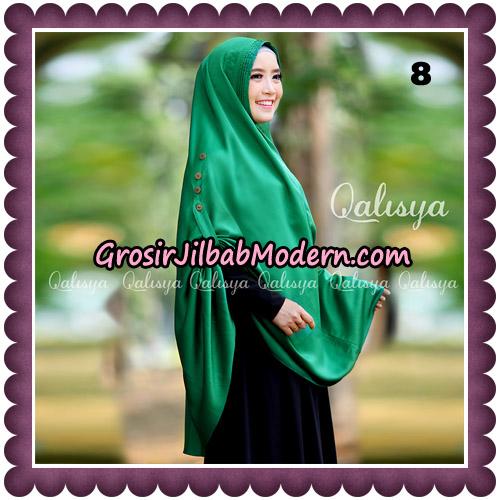 Jilbab Khimar Ziya Original By Qalisya Hijab Brand No 8