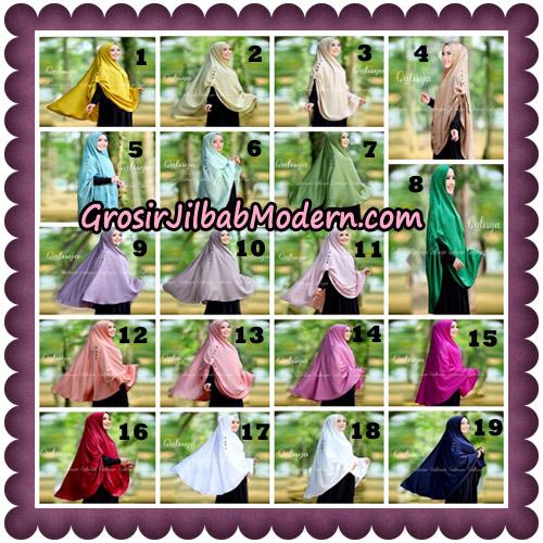 Jilbab Khimar Ziya Original By Qalisya Hijab Brand