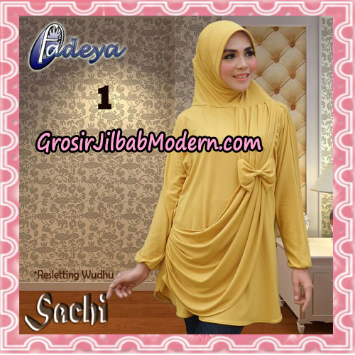 Jilbab Lengan Tunik Sachi Original By Fadeya Brand No 1
