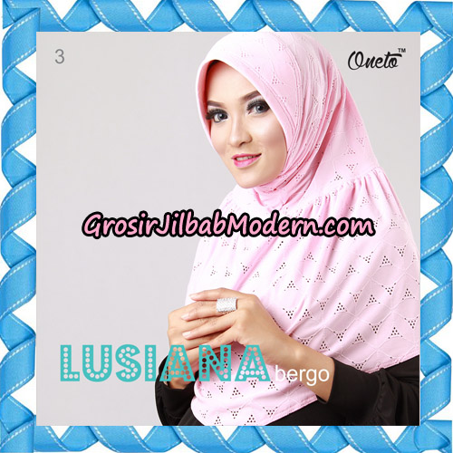 Jilbab Lusiana Bergo Original By Oneto Hijab Brand No 3