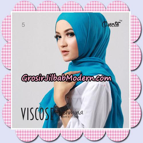 Jilbab Pashmina Jasmine Viscose Support Oneto Hijab No 5