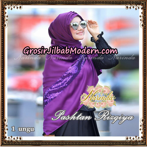 Jilbab Pashtan Rizqiya Original By Narinda Hijab No 1
