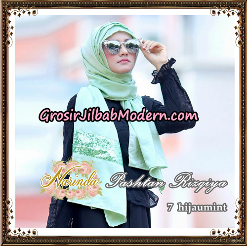 Jilbab Pashtan Rizqiya Original By Narinda Hijab No 7
