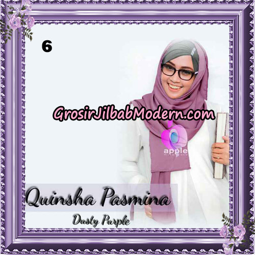 Jilbab Quinsha Pasmina Cantik By Apple Hijab Brand No 6