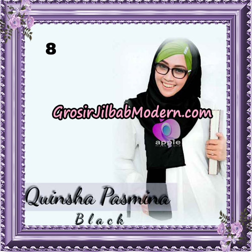 Jilbab Quinsha Pasmina Cantik By Apple Hijab Brand No 8