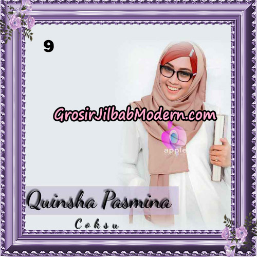 Jilbab Quinsha Pasmina Cantik By Apple Hijab Brand No 9